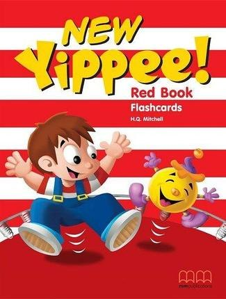 New Yippee! Red Flashcards / Flash-картки
