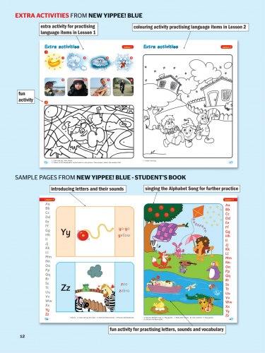 New Yippee! Blue Student's Book / Підручник для учня