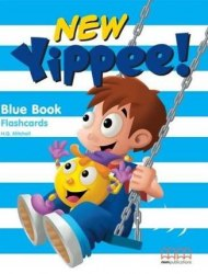 New Yippee! Blue Flashcards / Flash-картки
