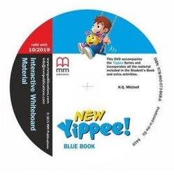 New Yippee! Blue DVD IWB Pack / Ресурси для інтерактивної дошки