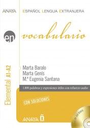 Vocabulario Elemental A1-A2 con soluciones + CD