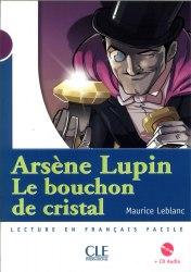 Lectures Mise en Scene 1 Le bouchon de cristal Livre + CD audio