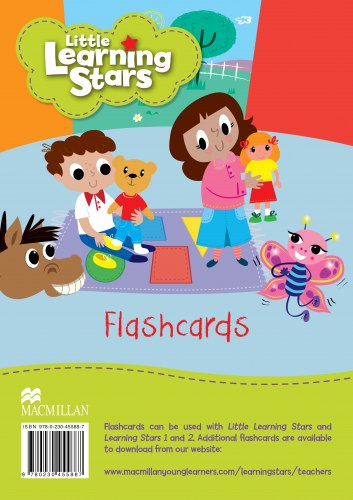 Little Learning Stars Flashcards / Flash-картки