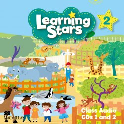 Learning Stars 2 Class Audio CDs 1 and 2 / Аудіо диск
