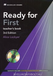 Ready for First 3rd Edition Teacher's Book with Class Audio CDs and DVD-ROM / Підручник для вчителя