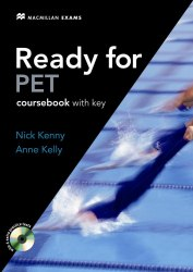 Ready for PET Coursebook with key and CD-ROM / Підручник для учня