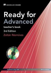 Ready for Advanced 3rd Edition Teacher's Book with Class Audio CDs and DVD-ROM / Підручник для вчителя