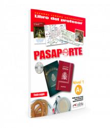 Pasaporte 1 (A1) Libro del profesor + CD audio / Підручник для вчителя