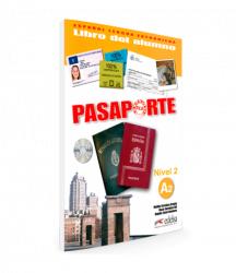 Pasaporte 2 (A2) Libro del alumno + CD audio / Підручник для учня