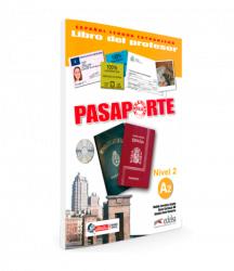 Pasaporte 2 (A2) Libro del profesor + CD audio / Підручник для вчителя