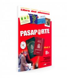 Pasaporte 3 (B1) Libro del alumno + CD audio / Підручник для учня