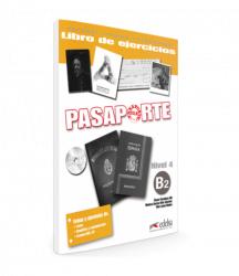 Pasaporte 4 (B2) Libro del ejercicios + CD audio / Робочий зошит