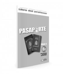 Pasaporte 4 (B2) Libro del profesor / Підручник для вчителя