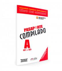 Pasaporte Compilado A (A1+A2) Libro del alumno / Підручник для учня