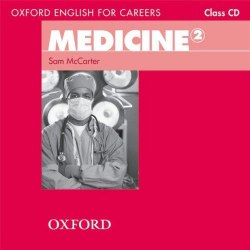Oxford English for Careers: Medicine 2 Class CD / Аудіо диск