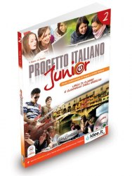 Progetto Italiano Junior 2 Libro & Quaderno + CD audio / Підручник + зошит
