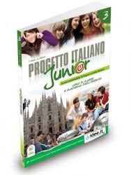 Progetto Italiano Junior 3 Libro & Quaderno + CD audio / Підручник + зошит