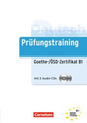Prufungstraining DaF: Goethe-ÖSD-Zertifikat B1+CD NEU