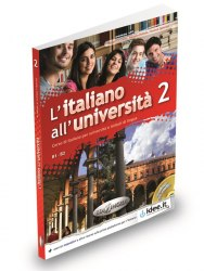 L'italiano all'universita 2 Libro di classe ed Eserciziario + CD audio / Підручник + зошит