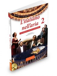 L'italiano nell'aria 2 Libro & Quaderno + CD audio / Підручник + зошит