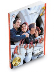 Allegro 2 Libro dello studente ed esercizi + CD audio / Підручник + зошит