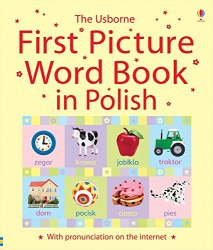 First Picture Word Book In Polish