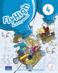 Fly High 4 Activity Book with CD-Rom / Робочий зошит