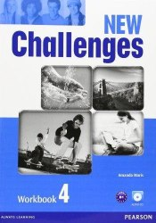 New Challenges 4 Workbook with Audio CD / Робочий зошит