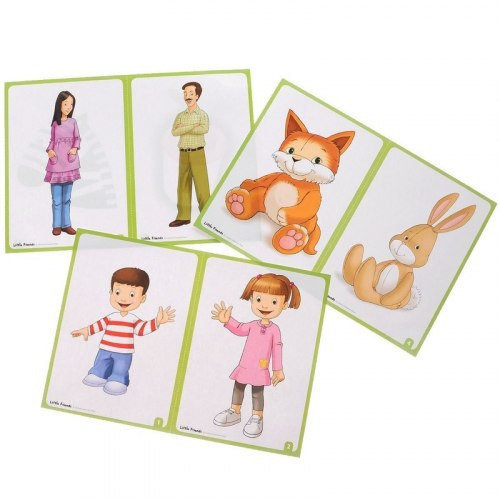 Little Friends Flashcards / Flash-картки