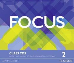 Focus 2 Class Audio CDs Pearson