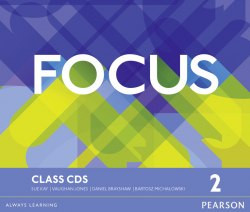 Focus 2 Class Audio CDs / Аудіо диск