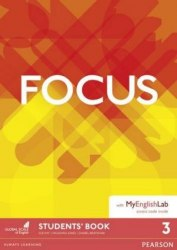 Focus 3 Student's Book with MyEnglishLab / Підручник для учня