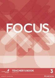 Focus 3 Teacher's Book with DVD-ROM / Підручник для вчителя