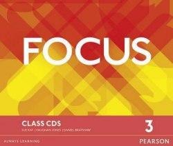 Focus 3 Class Audio CDs / Аудіо диск