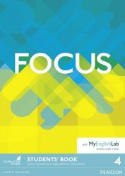 Focus 4 Student's Book with MyEnglishLab Pearson