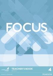 Focus 4 Teacher's Book with DVD-ROM / Підручник для вчителя