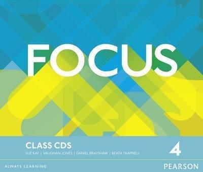 Focus 4 Class Audio CDs / Аудіо диск