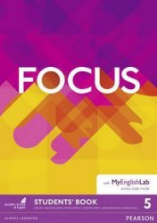 Focus 5 Student's Book with MyEnglishLab / Підручник для учня + онлайн зошит