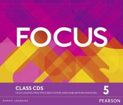 Focus 5 Class Audio CDs / Аудіо диск