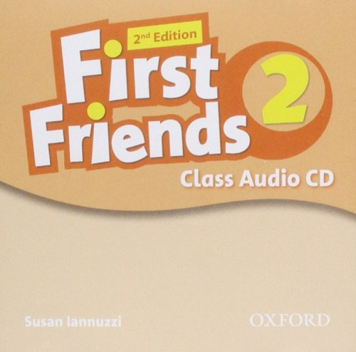 First Friends 2 (2nd Edition) Class Audio CD / Аудіо диск