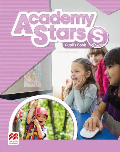 Academy Stars Starter Pupil's Book Pack with Alphabet Book / Підручник для учня