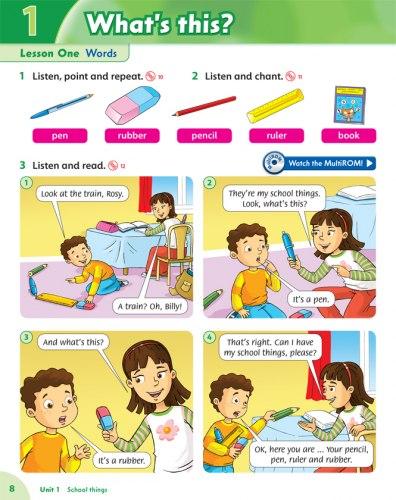 Family and Friends 1 (2nd Edition) ClassBook and MultiROM / Підручник для учня