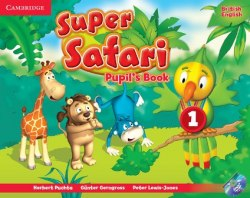 Super Safari 1 Pupil's Book with DVD-ROM / Підручник для учня