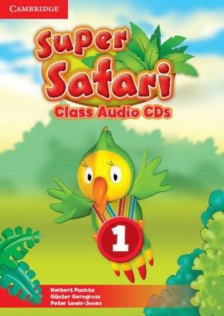 Super Safari 1 Class CDs / Аудіо диск