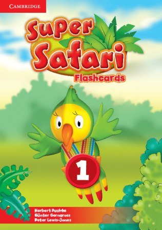 Super Safari 1 Flashcards Cambridge University Press