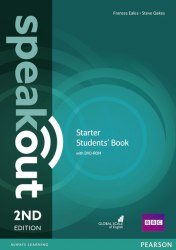 Speakout (2nd Edition) Starter Student's Book with DVD / Підручник для учня