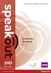 Speakout (2nd Edition) Elementary Workbook with key / Робочий зошит