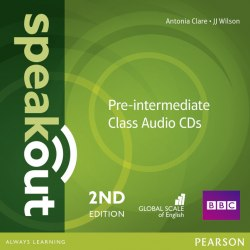 Speakout (2nd Edition) Pre-Intermediate Class CDs / Аудіо диск