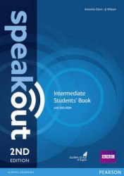 Speakout (2nd Edition) Intermediate Student's Book with DVD / Підручник для учня