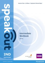 Speakout (2nd Edition) Intermediate Workbook with key / Робочий зошит